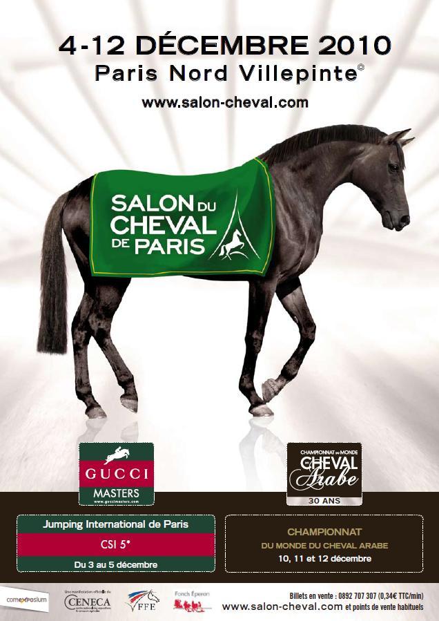 L elevage de la foulque au salon du cheval de paris 2010 for Place salon du cheval